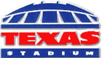Texas Stadium - Image: Tex Stad Logo