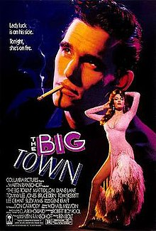 The Big Town (1987 film poster).jpg