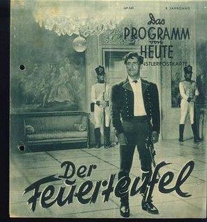 <i>The Fire Devil</i> 1940 film by Luis Trenker