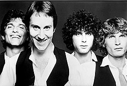The Knack in 1978. From left to right: Gary, Fieger, Niles, Averre