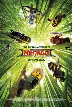 The Lego Ninjago Movie - Theatrical release poster