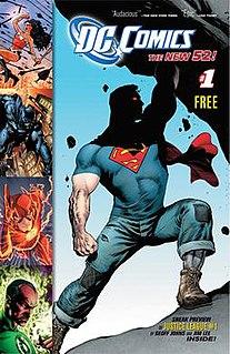 The New 52 DC Comics superhero comic books series