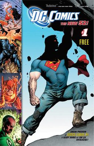 The New 52 - Image: The New 52