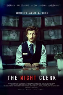 <i>The Night Clerk</i> 2020 film directed by Michael Cristofer