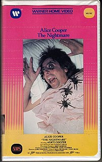 <i>Alice Cooper: The Nightmare</i> 1975 video by Alice Cooper