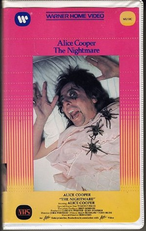 Alice Cooper: The Nightmare - Image: The Nightmare VHS cover