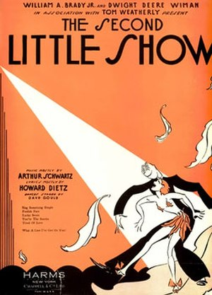 The Second Little Show - Sheet music cover (cropped)