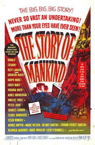 The Story of Mankind (film) - 1957 U.S. theatrical poster