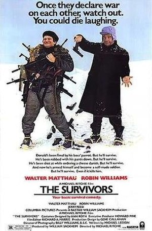 The Survivors (1983 film) - Theatrical release poster