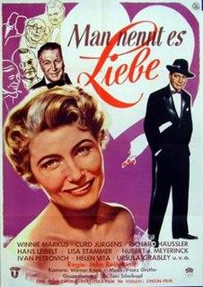 <i>They Call It Love</i> 1953 film