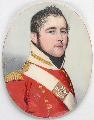 Thomas Laycock - Thomas Laycock, in the uniform of the 98th Regiment in 1811.