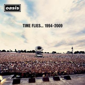 Time Flies... 1994–2009 - Image: Time Flies 1994 2009 album cover