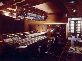 Trident Studios - Trident Studios interior circa 1975