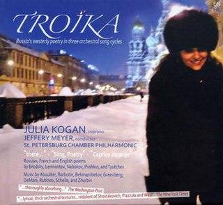 <i>Troika</i> (album) 2011 studio album by Julia Kogan
