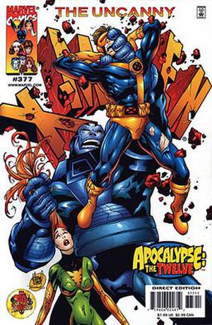 Apocalypse: The Twelve - Image: Uncanny 377
