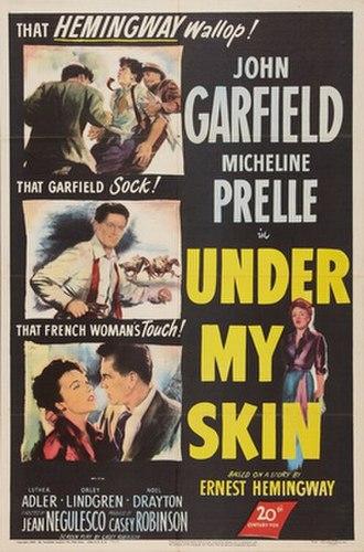 Under My Skin (film) - Image: Under My Skin poster