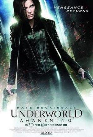 Underworld: Awakening - Theatrical release poster