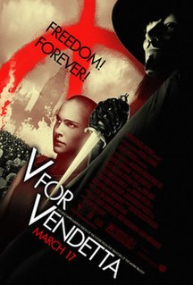 <i>V for Vendetta</i> (film) 2005 film directed by James McTeigue