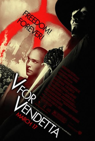 V for Vendetta (film) - Theatrical release poster