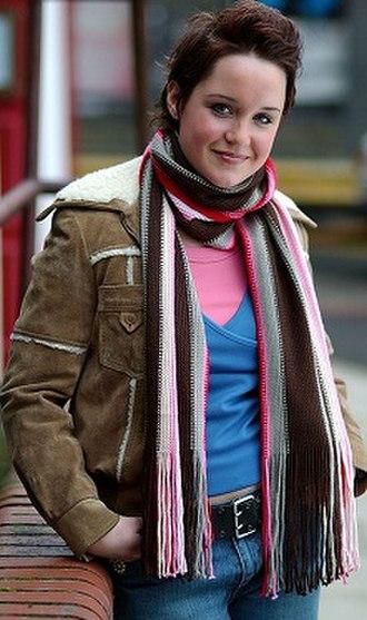Vicki Fowler - Scarlett Alice Johnson as Vicki in 2004