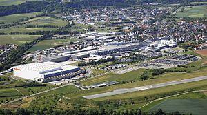 Allendorf (Eder) - Allendorf with Viessmann factory
