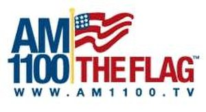 WZFG - AM 1100 The Flag logo