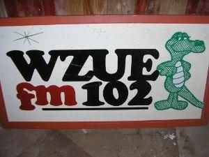 WCAT-FM - Image: WZUE billboard