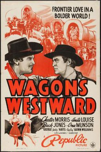 Wagons Westward - Theatrical release poster