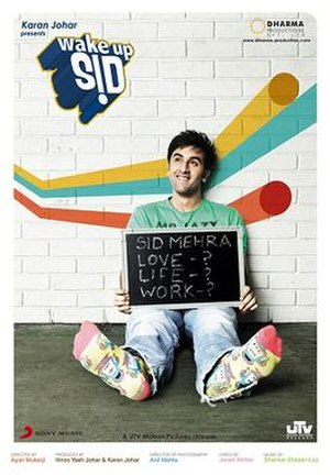 Wake Up Sid - Theatrical release poster