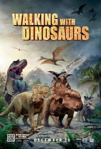 Walking with Dinosaurs (film) - Theatrical release poster