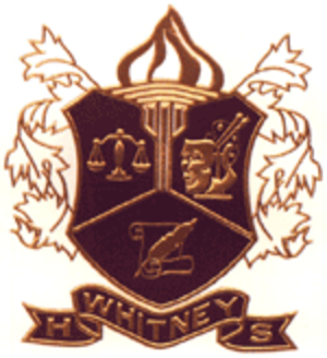 Whitney High School (Cerritos, California) - Image: Whitney HS Seal