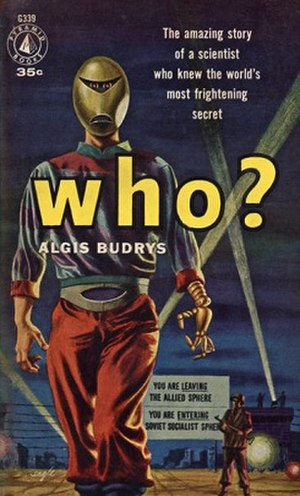 Who? (novel) - Cover of first paperback edition