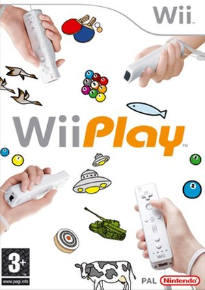 Wii Play - Image: Wii Play Europe