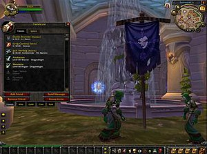 Battle.net - An early model of the revamped Battle.net interface in World of Warcraft