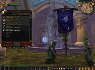 Battle.net - An early model of the revamped Battle.net interface in World of Warcraft