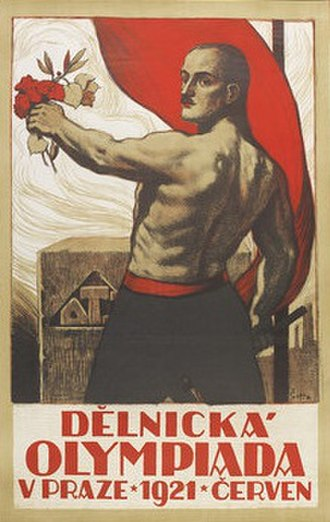 1921 Workers' OIympiad - Image: 1921 Workers' Olympiad poster