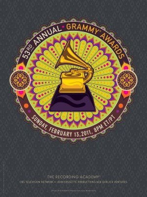 53rd Annual Grammy Awards - Image: 53rd.poster.final