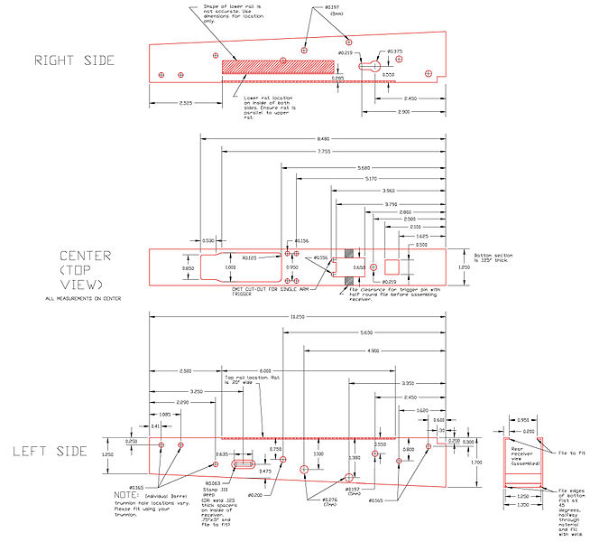 M2 Browning Blueprints further T a Gun Parts For Sale M16 M4  plete Full Auto Lower Parts Kit Ar15 furthermore Bcm m4 mod2 together with Removing Handguards further . on m4 auto sear