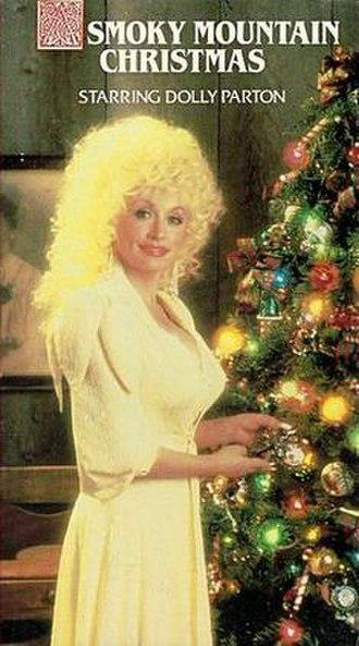 A Smoky Mountain Christmas - VHS cover