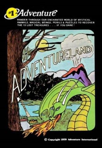 Adventureland (video game) - Image: Adventureland 1979