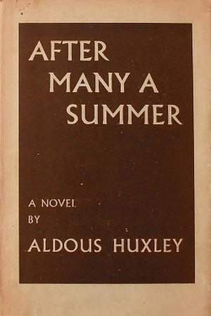 After Many a Summer - First UK edition