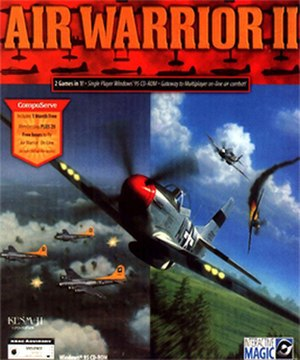 Air Warrior - Image: Air Warrior II Coverart