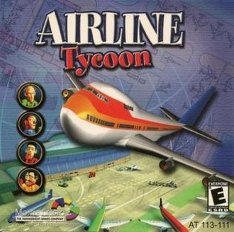 Airline Tycoon - Image: Airline Tycoon CD Cover