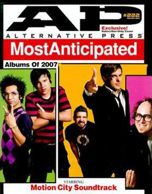 "Alternative Press (magazine) - ""Most Anticipated Albums of 2007"" issue"