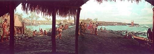 Ancient Punaluu, Hawaiʻi Island by Herb Kane