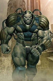 Apocalypse (comics) Fictional character from the X-Men franchise