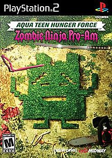 Aqua Teen Hunger Force Zombie Ninja Pro-Am cover.jpg