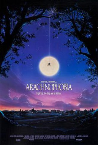 Arachnophobia (film) - Theatrical release poster by John Alvin