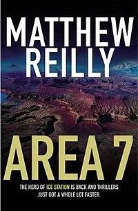 Area 7 (Matthew Reilly novel - front cover).jpg