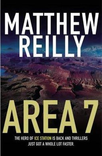 Area 7 (novel) - Australian paperback cover